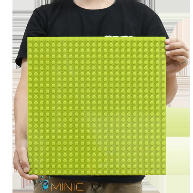 Большая строительная пластина 38.4x38.4 см (24х24точки) для конструктора LEGO Duplo