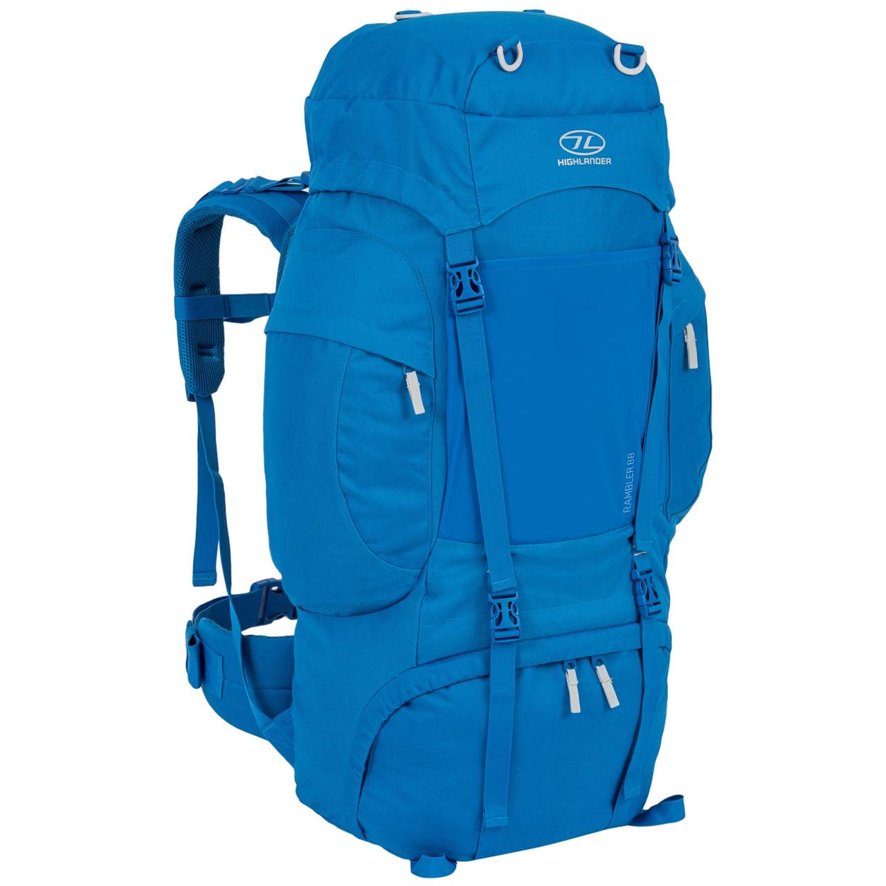 Рюкзак туристический Highlander Rambler 88 Blue