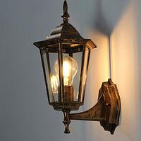 Уличный садово-парковый светильник PL6102 античное золото, металл