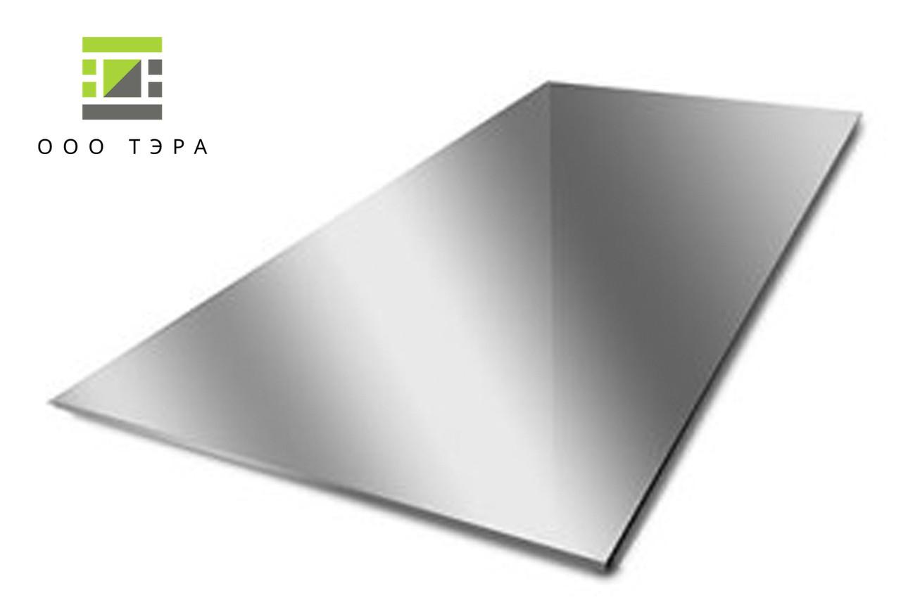 Лист алюминиевый 2.0 мм 5083 аналог АМГ5М 1000 х 2000
