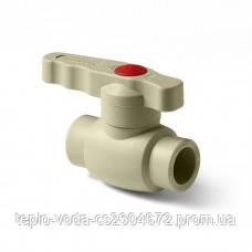 Кран шаровой PP-R 20 мм Tebo