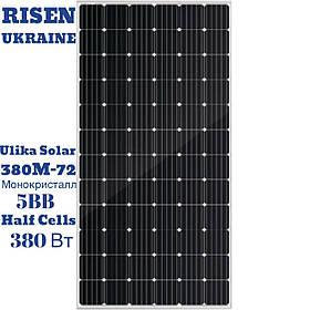 Солнечная  панель Ulica Solar UL-380M-72, монокристалл, 380 Вт, 5 ВВ, 72 CELL