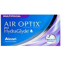 Контактные линзы/Контактні лінзи Air Optix Hydraglyde Multifocal (мультифокальные), 1 шт, Alcon