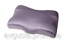 Ортопедична подушка Beauty Balance від зморшок сну і ранкової набряклості (MEMORY FOAM). так, лаванда шовк