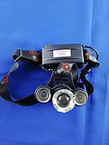 Налобный тактический фонарь Bailong BL-C863-T6, фото 3
