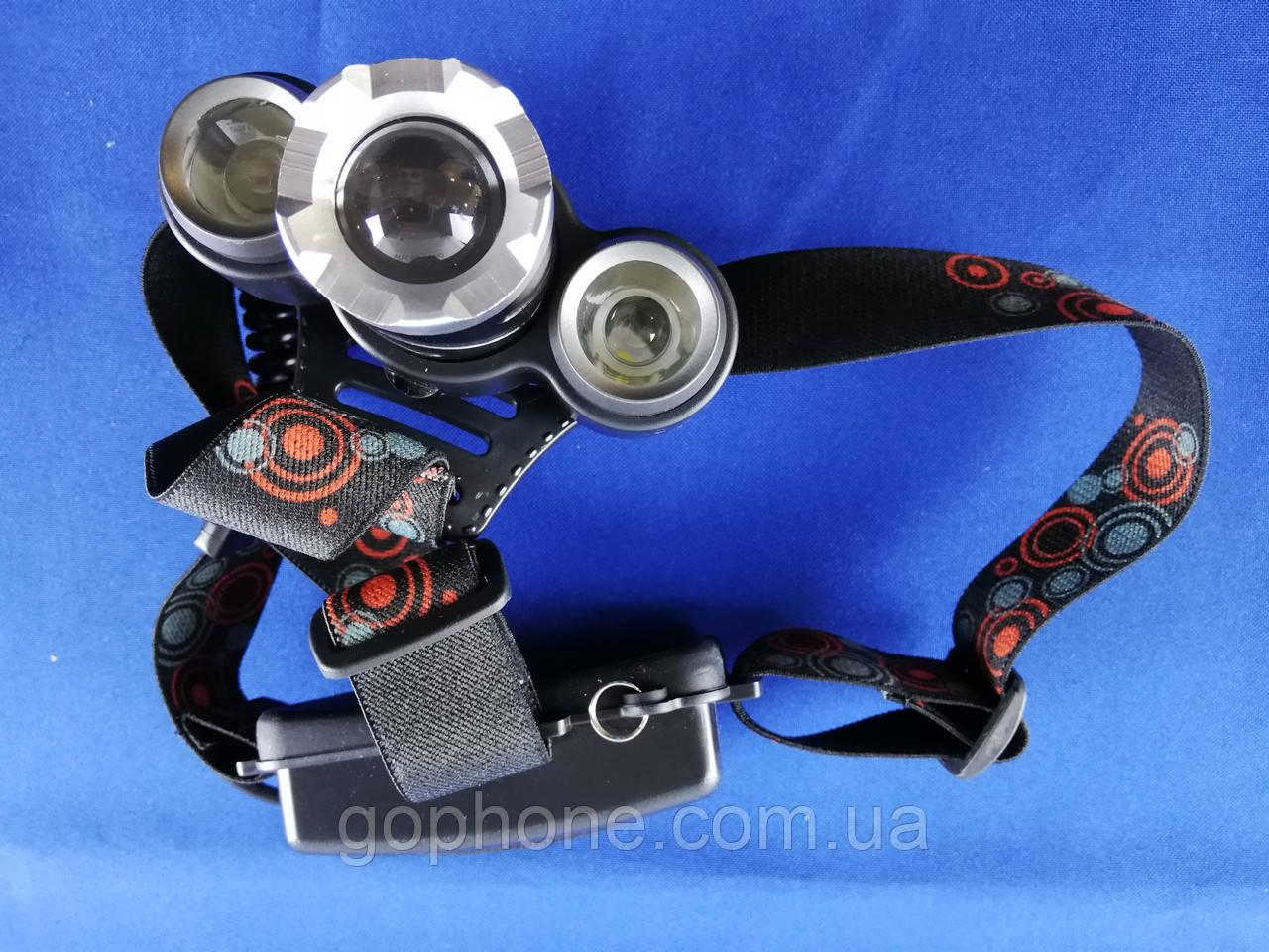 Налобный тактический фонарь Bailong BL-C863-T6