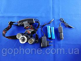 Налобный тактический фонарь Bailong BL-C863-T6, фото 2