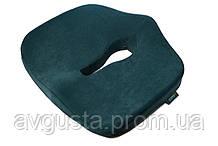 Ортопедична подушка для сидіння - Max Comfort, ТМ Correct Shape. Подушка від геморою, простатиту, подагри смарагдовий