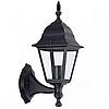 Уличный настенный фонарь Кантри PL4101 черный,  Е27 металл