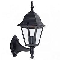 Уличный настенный фонарь Кантри PL4101 черный,  Е27 металл, фото 1
