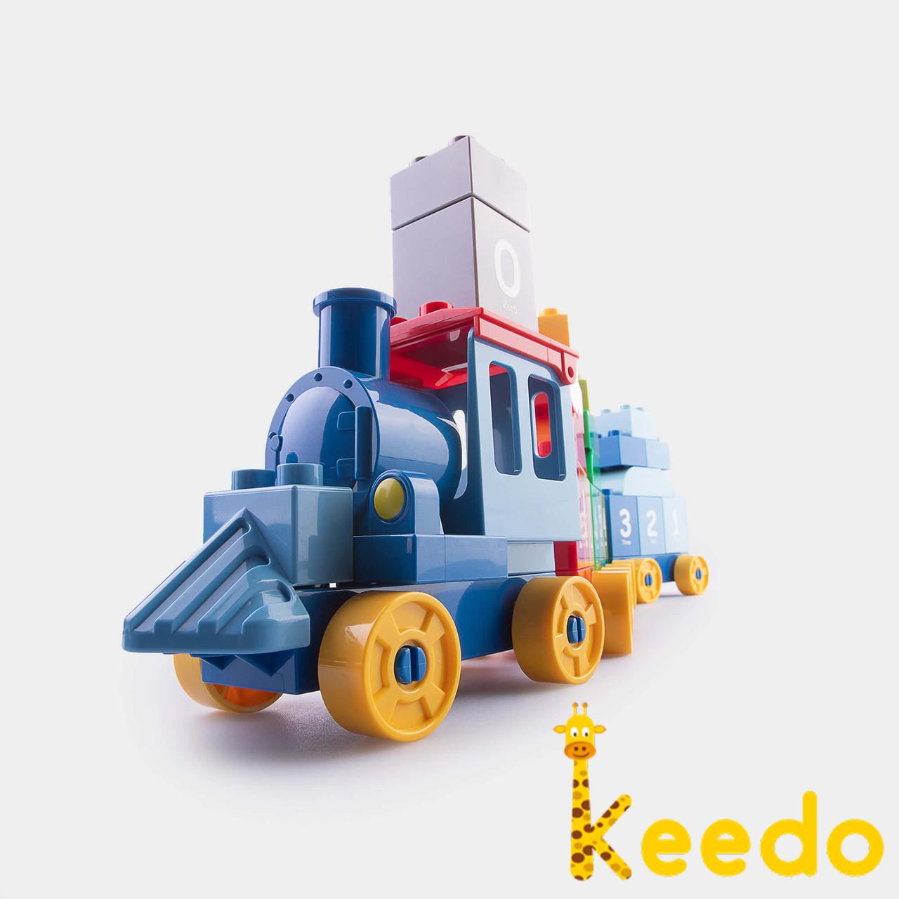 Детский конструктор Keedo DUBIE Building Blocks 83 детали