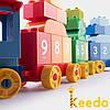 Детский конструктор Keedo DUBIE Building Blocks 83 детали, фото 5