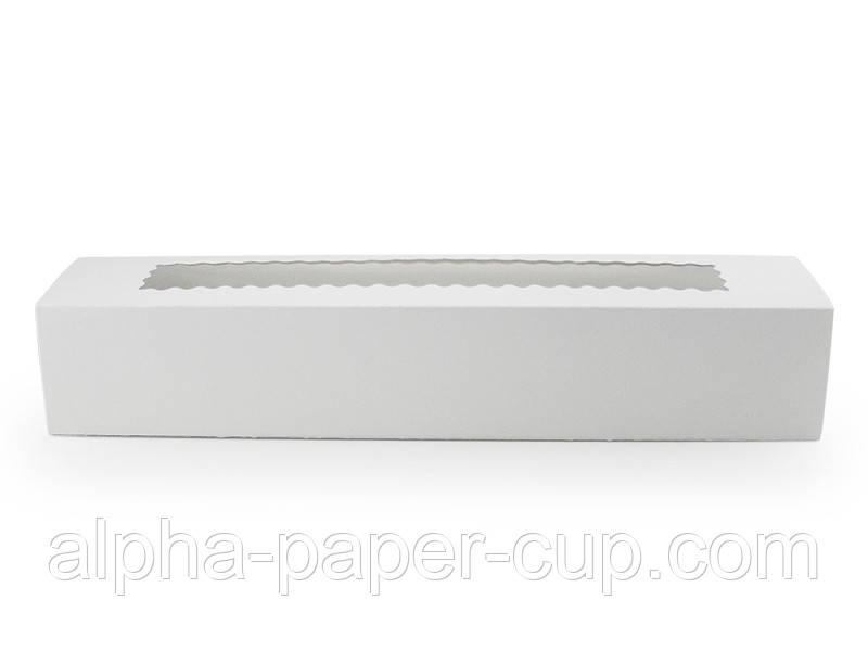 Коробка белая Maxi для макарун 305*59*48, 10 шт/уп, 17 уп/ящ.