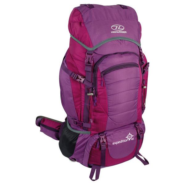 Рюкзак туристический Highlander Expedition 60w Purple