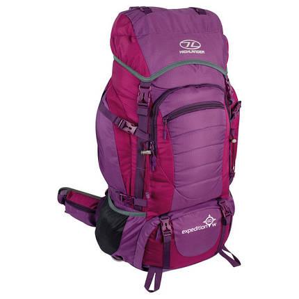 Рюкзак туристический Highlander Expedition 60w Purple, фото 2