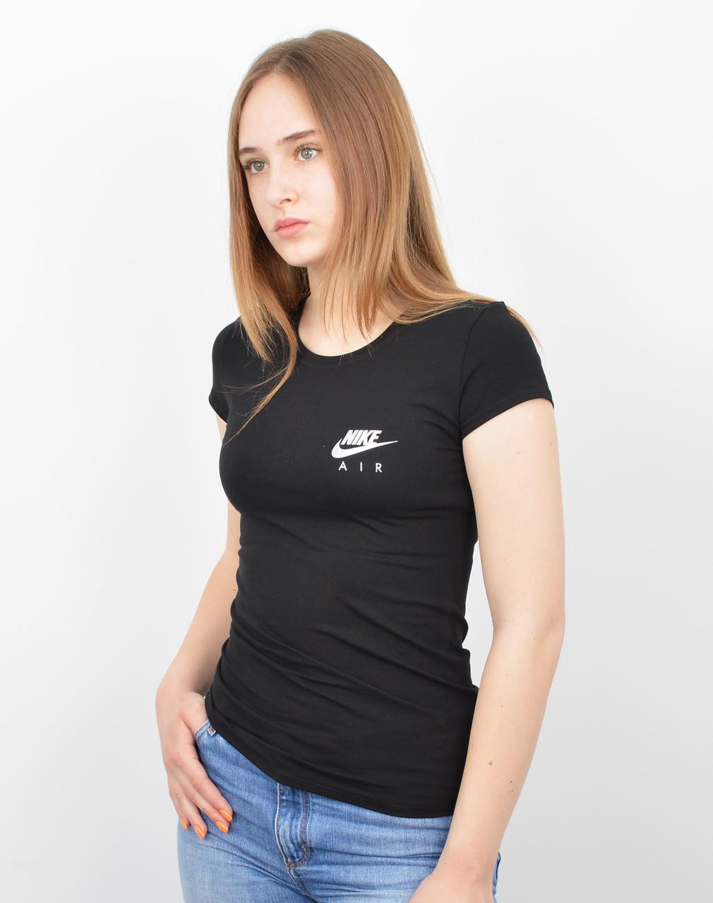 Женская футболка оптом спорт S0520 Черный