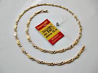 Женское Колье Цепочка 9.85 грамма 45 см. Золото 585 пробы, фото 1