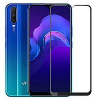 Защитное стекло 2.5D на весь экран (с клеем по всей поверхности) для Vivo Y93 Lite