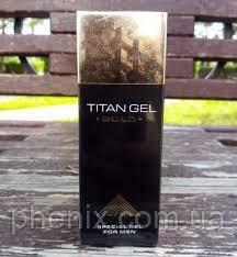 Новинка! Гель для пеніса Titan Gel Gold Титан Гель Голд