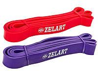 Набор эспандеров-петель Zelart POWER BANDS жесткость S-M 10-45 кг для подтягивания, турника, тренировок, фото 1