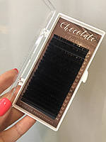 "Вії ""Dark Сhocolatte"" (гіркий шоколад) ""AURORA LASHES"", мікс"