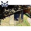 Двухместная палатка кемпинговая Bivvy 155х300х270см водостойкая палатка 2 в 1 с москитными сетками + ПВХ-пол, фото 4