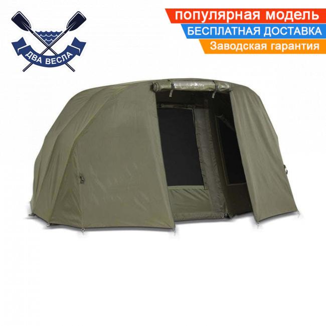 Двухместная палатка кемпинговая Bivvy + зимнее покрытие 155х300х270см водостойкая палатка 4 сезона + пол, 13кг