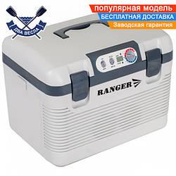 Портативный автохолодильник Ranger Iceberg 19L работа от электросети 220V или прикуривателя 12V, есть подогрев