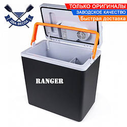 Портативный автохолодильник Ranger Cool 20L работа от электросети 220V или прикуривателя 12V, есть подогрев