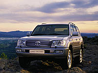 Держатель запаски Toyota Land Cruiser 100