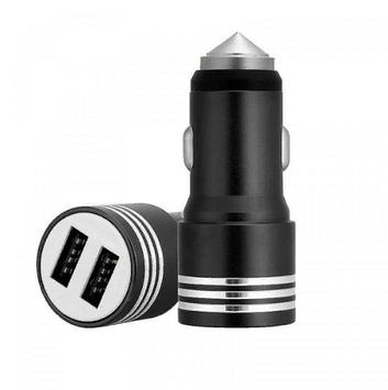 Автомобильная USB зарядка от прикуривателя АЗУ 2USB 12v CAR YZS-01