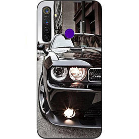 Чехол с картинкой силиконовый для Realme 5 Pro Авто