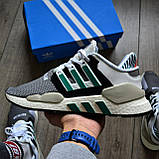 Мужские кроссовки Adidas EQT SUPPORT 91/18 DE019 Granite Sub Green, фото 2
