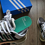Мужские кроссовки Adidas EQT SUPPORT 91/18 DE019 Granite Sub Green, фото 7