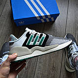 Мужские кроссовки Adidas EQT SUPPORT 91/18 DE019 Granite Sub Green, фото 3