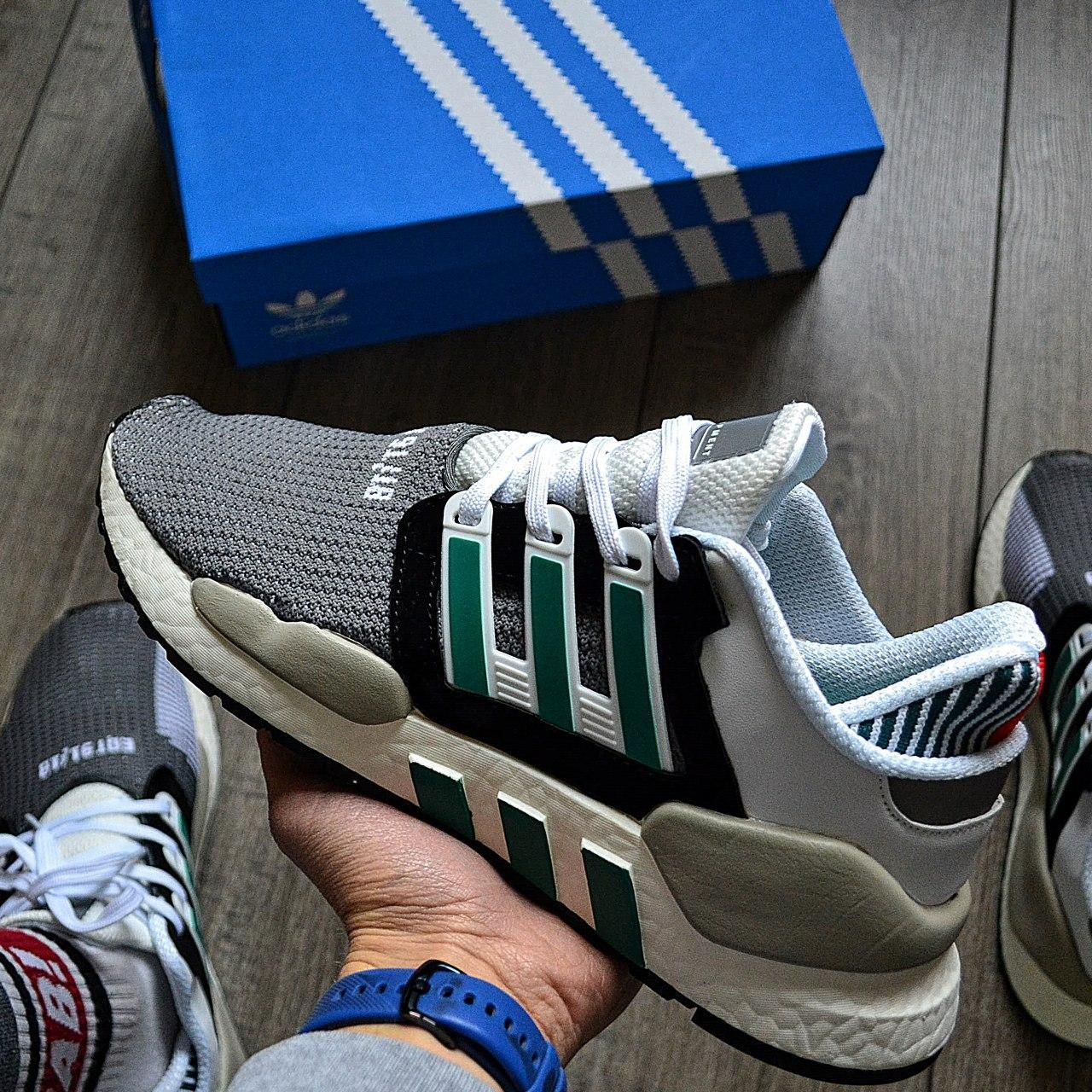 Мужские кроссовки Adidas EQT SUPPORT 91/18 DE019 Granite Sub Green