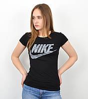 Женская футболка оптом спорт S0320 Черный, фото 1