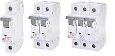 Автоматические выключатели ETIMAT 6 AC (х-ка С) (Icu-6kA)