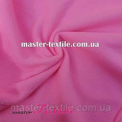 Флис однотонный ( ярко розовый)