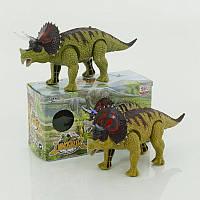 Динозавр WS 5315 (60) підсвічування, звук, 2 види, на батарейці, в коробці