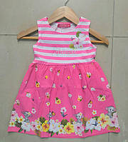 Платье для девочек оптом, 12-36 мес., арт. ZOL-15471