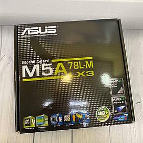 Материнская плата ASUS M5 A - 78LM (sAM3+AMD 760 G/2xDDR3/Mini ATX)