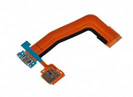 Шлейф Samsung T800 Galaxy Tab S 10.5, T805 с разъемом зарядки, разъемом под карту памяти, микрофоном