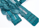 Комплект женского нижнего белья Lux4ika размер 75С классический с нежным кружевами Зеленый (vol-556), фото 2