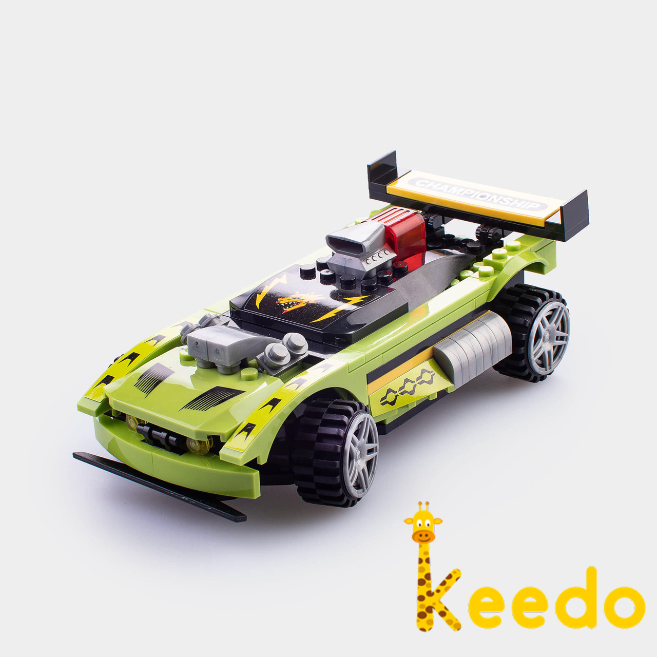 Детский конструктор Champion Машинка с пультом управления WINNER 187 детали