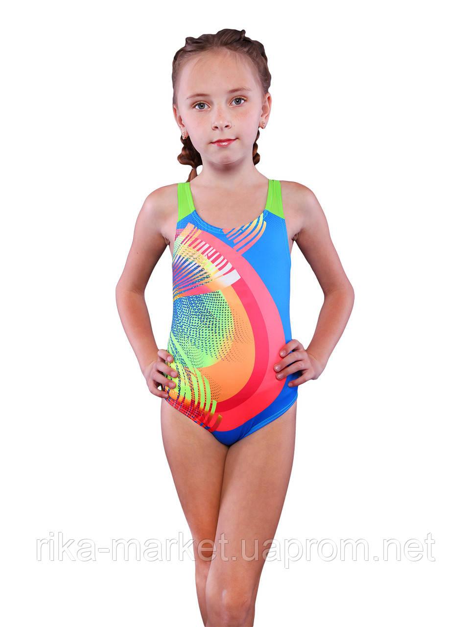 Спортивный купальник для девочки Keyzi, от 7 до 14 лет, Rainbow