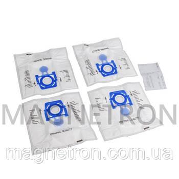 Комплект мешков (12 шт без упаковки) SAFBAG + фильтр ZVCA100B для пылесосов Zelmer \ Bosch