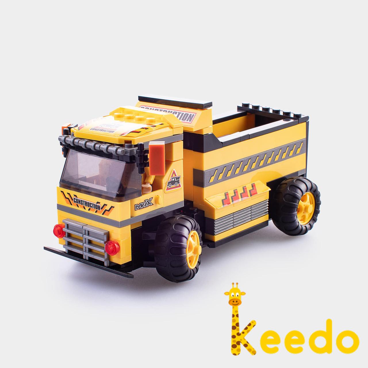 Детский конструктор Champion Машинка грузовик с пультом управления WINNER 217 деталей