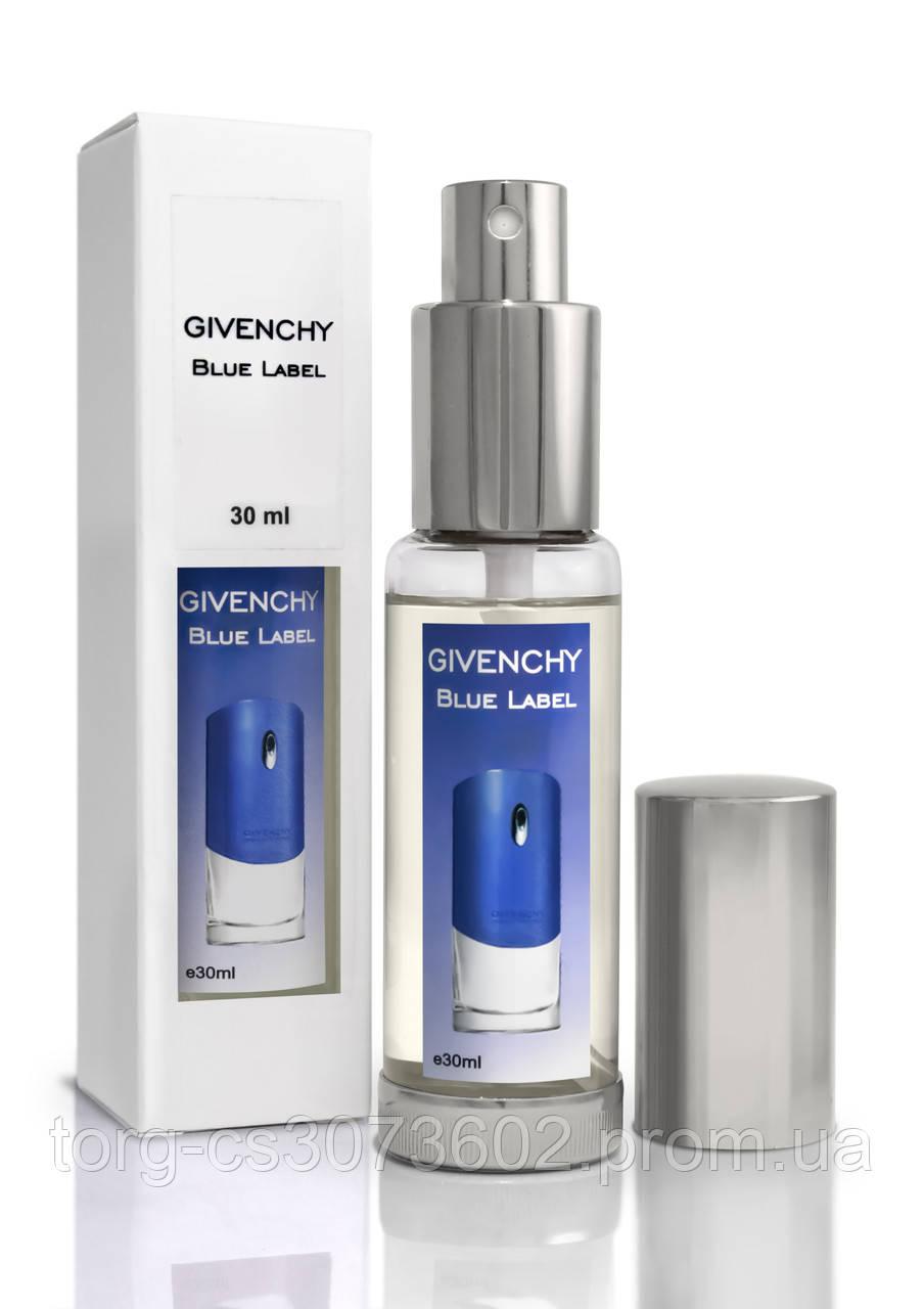Мини-парфюм мужской Givenchy Blue Label, 30 мл.