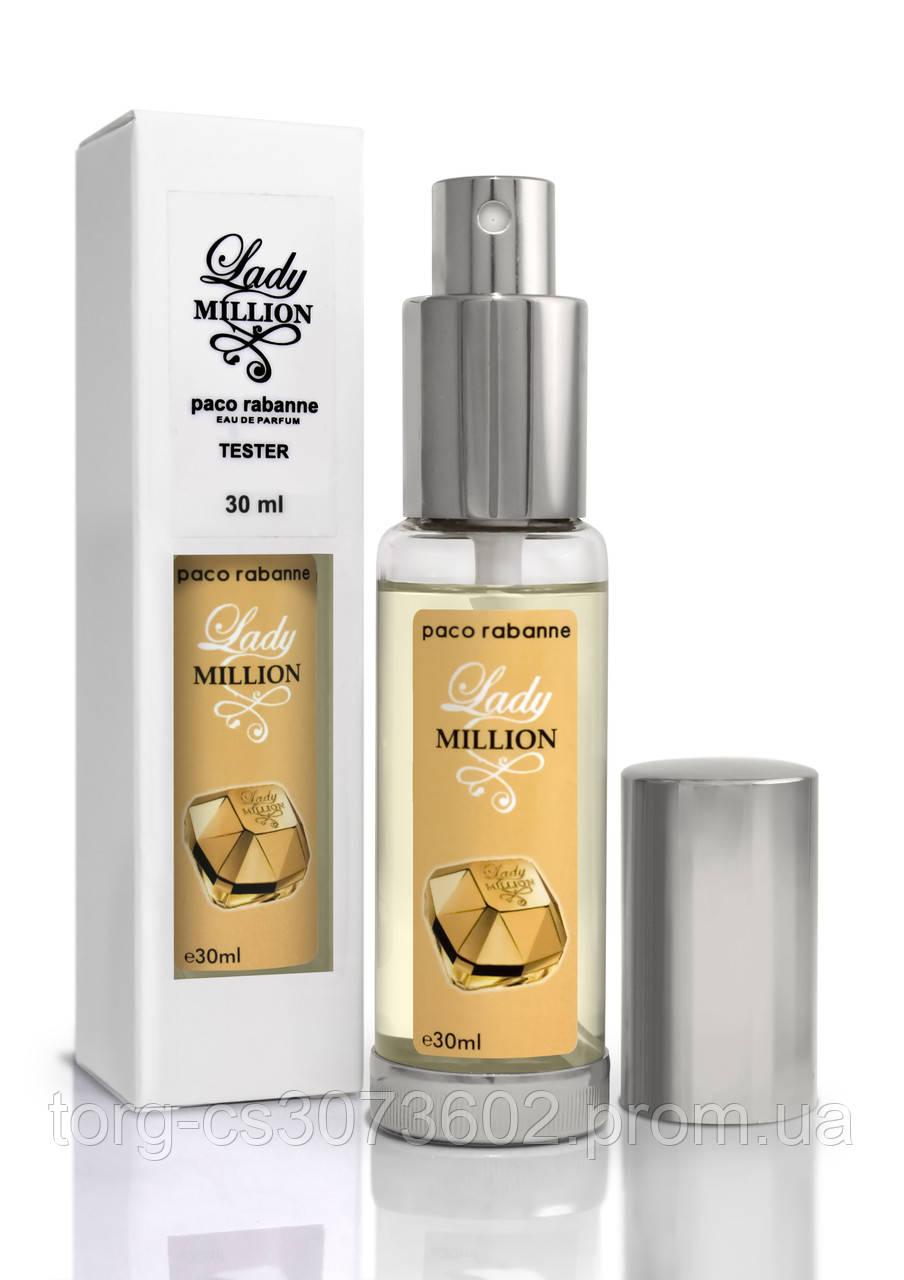 Мини-парфюм женский Paco Rabanne Lady Million, 30 мл.